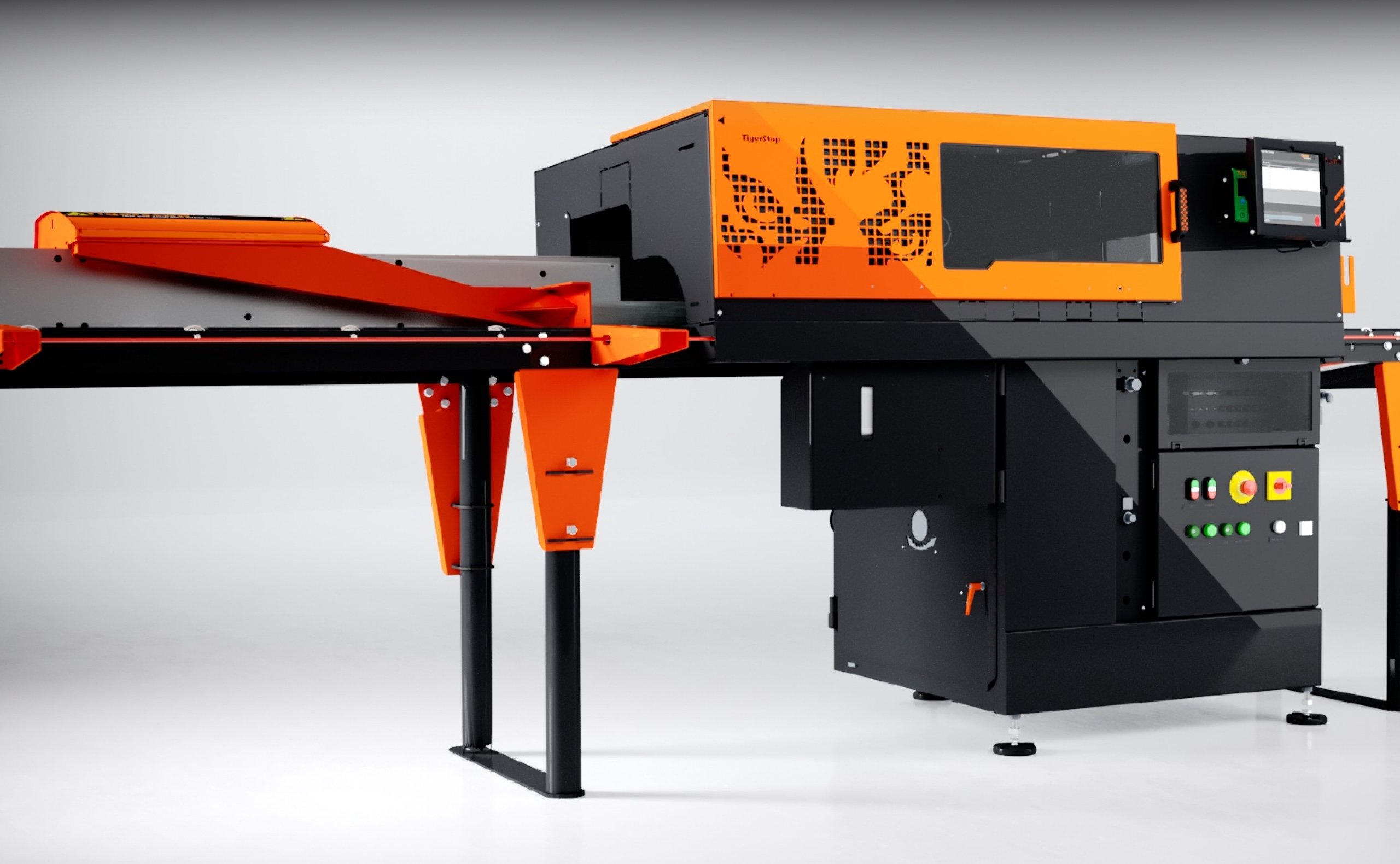 TigerStop Automatic Saw System