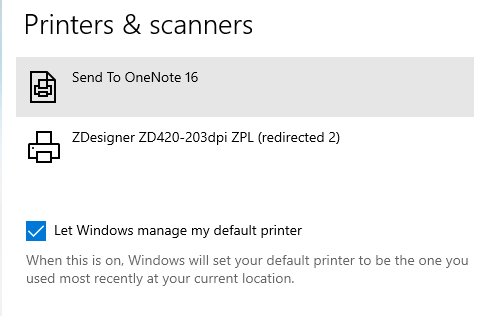 printers and scanners 1